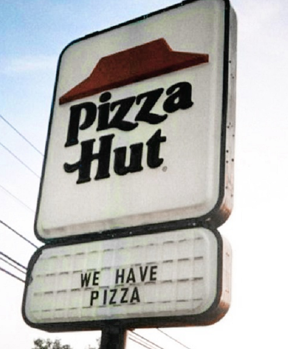 Pizza Hut Om os-tekst